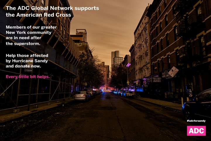 Art Directors Club Lends Support to Hurricane Sandy Victims