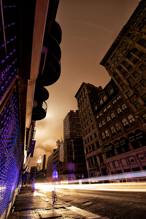 NYC Unplugged Photo Series by Randy Scott Slavin, for sale at the Art Directors Club